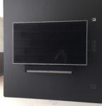 Fernseher + Soundbar (ausziehbare und drehbare Wandhalterung)