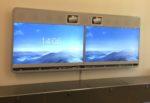 Wandmontage Cisco Videokonferenzanlage