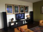 Wohnzimmer, T+A HV Serie mit Triangle Magellan