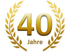 40Jahre logo