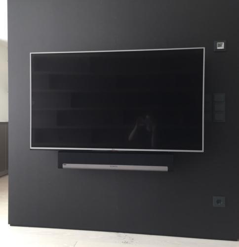 Fernseher + Soundbar