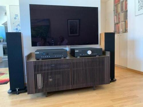 Musical Fidelity + Russell K. HiFi Anlage Frontansicht